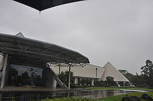 "Imiloa Astronomy Center of Hawaii - Imiloa Astronomy Center of Hawaii ""shines"" even when it rains."