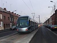 Inauguration de la branche vers Vieux-Condé de la ligne B du tramway de Valenciennes le 13 décembre 2013 (006).JPG