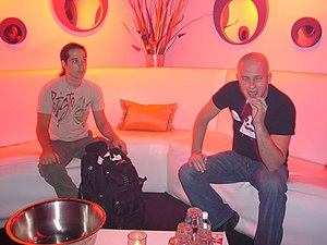 Infected Mushroom - Infected Mushroom at the DNA Lounge in 2002