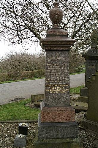 Lance Todd - Lance Todd's Gravestone