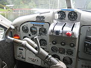 Instrument panel of a deHavilland Canada DHC-2 Beaver