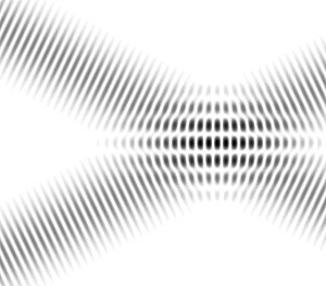 Interference (wave propagation) - Interference fringes in overlapping plane waves