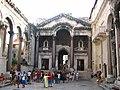 Interior of Diocletian's Palace, Split, Croatia.JPG