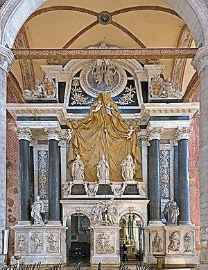 Silvestro Valiero - Image: Interior of Santi Giovanni e Paolo (Venice) Monument of the Valier family