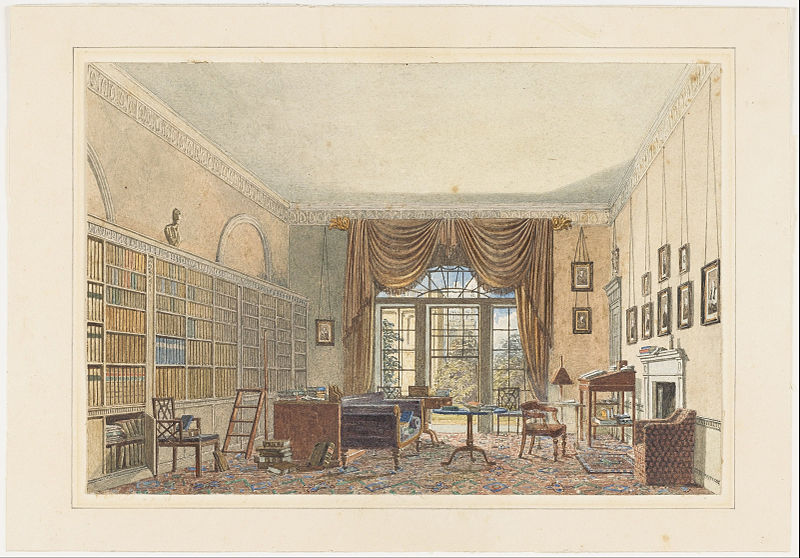 File:Interior of a Library - Google Art Project.jpg