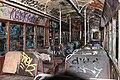 Interior of tram 1995.JPG