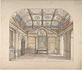 Interior with coffered ceiling and Corinthian order applied to walls MET DP805626.jpg