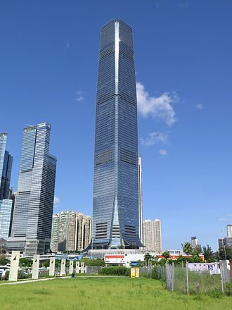 International Commerce Centre - International Commerce Centre in 2014