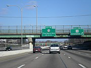 Interstate 95 in Providence, Rhode Island