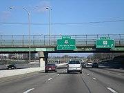 Interstate 95 in Providence, Rhode Island