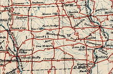 U.S. Highways in Iowa roughly form a grid across the state.