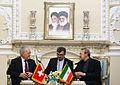 Iran's Parliament Speaker Ali Larijani and Swiss President Johann Schneider-Ammann meet in Tehran (1).jpg