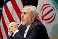 Iranian Foreign Minister Zarif Listens as Secretary Kerry Addresses Reporters (25979804143).jpg