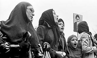 Women in Iran - Many Iranian women participated in the Iranian Revolution, the social changes being greeted by a majority of women (photo), but opposed by a minority of secularized women.