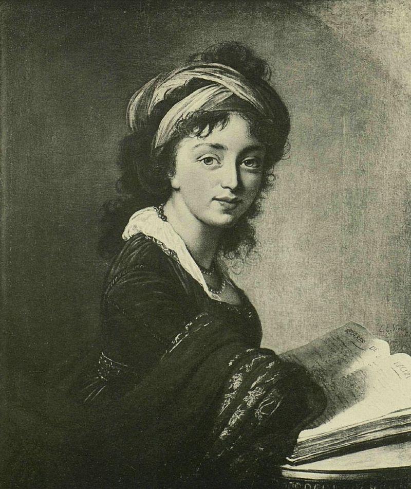 графиня Ирина Ивановна Воронцова, портрет работы Э. Виже-Лебрён