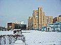 Irkutsk. February 2013. Barguzin, regional court, bus stop Volga, Diagnostic Center. - panoramio (15).jpg