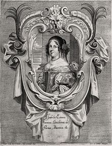 Isabella d'Este (1635–1666) Duchess of Parma after a portrait.jpg