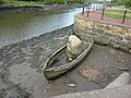 It's one way of stopping it from floating away - geograph.org.uk - 2439288.jpg