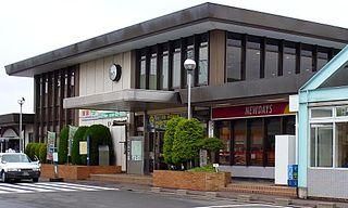 Iwanuma Station Railway station in Iwanuma, Miyagi Prefecture, Japan