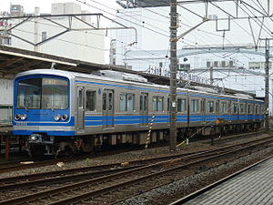 Daiyūzan Line - Set 5003 in July 2012
