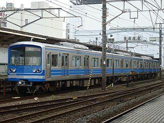 Daiyūzan Line - Set 5003 in July 2012