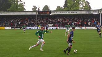 Jönköpings Södra IF - J-Södra playing at home against IK Sirius in the 2015 Superettan.