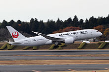 Un Dreamliner de la Japan Airlines