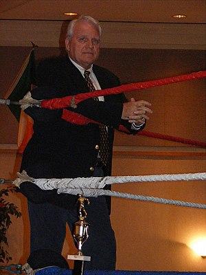 """J.J. Dillon - J.J. Dillon at the Walter """"Killer"""" Kowalski Memorial Show in Malden, Massachusetts on October 26, 2008."""