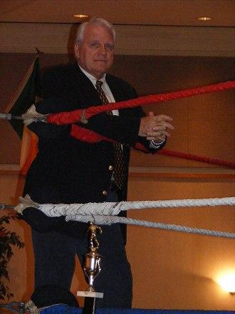 """J.J. Dillon - J.J. Dillon at the Walter """"Killer"""" Kowalski Memorial Show in Malden, Massachusetts on October 26, 2008"""