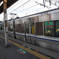 JRW 223-5500 at Sonobe Station 2009-03-28 (3391620815).jpg