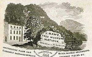 John Mawe - J Mawe's Museum at Matlock Bath.