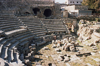 Jableh - The Roman theater of Jableh