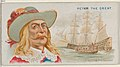 Jack Avery, Capturing Ship of the Great Mogul, from the Pirates of the Spanish Main series (N19) for Allen & Ginter Cigarettes MET DP835019.jpg