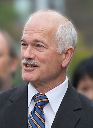 New Democratic Party leadership election, 2003 - Image: Jack Layton cr bl (cropped)