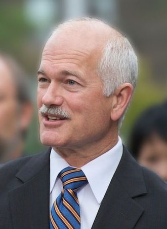 2006 Canadian federal election - Image: Jack Layton cr bl (cropped)