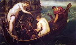 Tintoretto: The Deliverance of Arsinoe