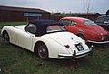 Jaguar XK150 Roadster & Lancia Aurelia B20 GT (30209605621).jpg