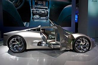 Jaguar C-X75 - Image: Jaguar c x 75 concept 3