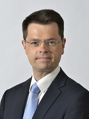 Secretary of State for Northern Ireland - Image: James Brokenshire 2015