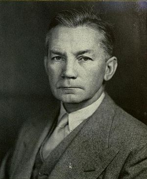 James V. Forrestal Building - James V. Forrestal, for whom the Forrestal Building is named.
