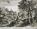 Jan Sadeler I - A Morte e o Cupido espreitam cônjuges desiguais.JPG