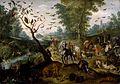 Jan van Kessel II - Noah's Family Assembling Animals before the Ark - Walters 371998.jpg