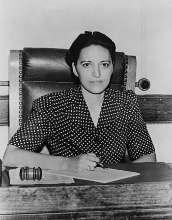 Judge Jane Bolin, first black female to occupy...