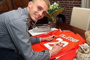 Jasper Cillessen - Cillessen with Ajax in 2013.