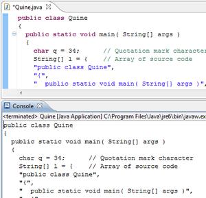 Quine (computing) - Wikipedia