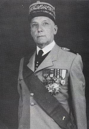 Jean Olié - Portrait of French général Jean Olié.