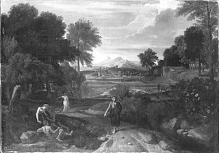 Italienische Landschaft (zugeschrieben)
