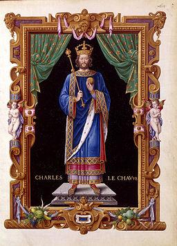 Jean de Tillet - Charles II le chauve - Recueil des rois de France