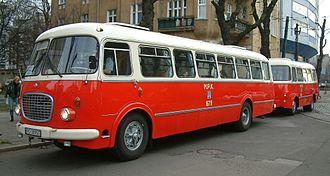 Jelcz - Image: Jelcz 043 and P01 Poznań RB1