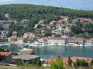 Jelsa, Croatia - View of Jelsa